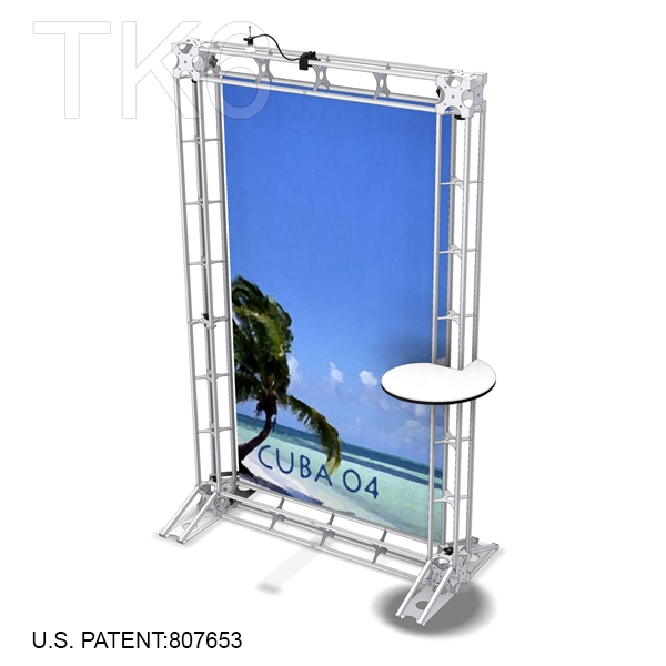 Exhibition Booth Frame : Cuba aluminum trade show truss display exhibit booth